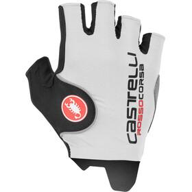 Castelli Rosso Corsa Pro fietshandschoenen Heren wit/zwart